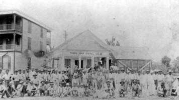 13: Tampa (Hillsborough County) - 1855