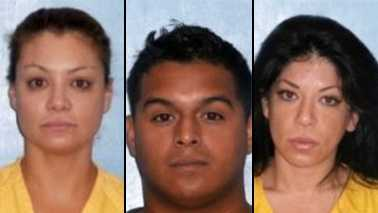 Marisol Terrazas, Antonio Medina and Virginia Terrazas all face charges in connection with a brawl that broke out at a concert in Okeechobee County.