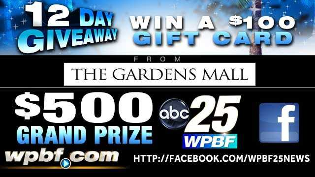 Image WPBF.com 12-Day Giveaway Official Rules