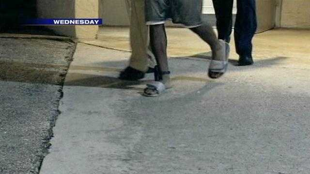 Teen suspect wearing ankle monitor
