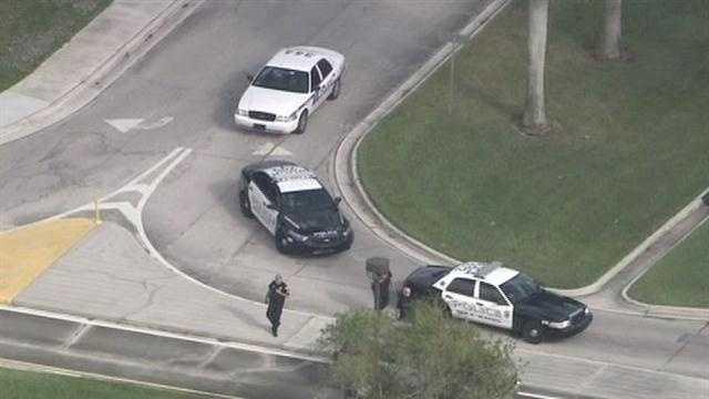 Cops on FAU campus