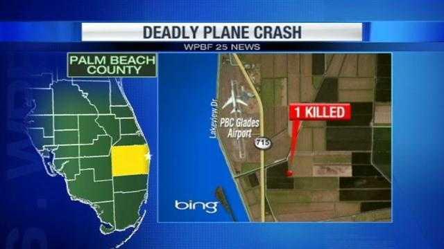 1 dead in plane crash
