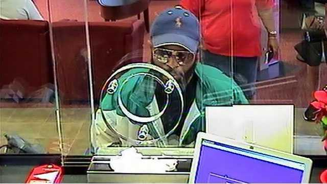 Detectives say this man robbed the Bank of America branch on Congress Avenue in Lake Park.