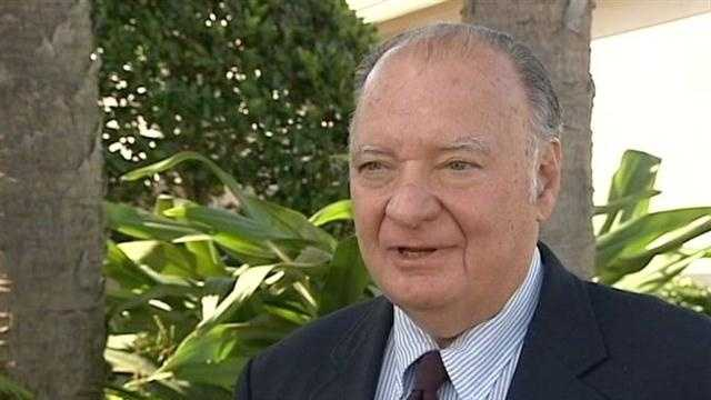 """Mark Alan Siegel, the former chairman of the Palm Beach County Democratic Party, says his comments at the DNC were taken out of context and that he was talking about issues he believes are in the """"far distant future."""""""