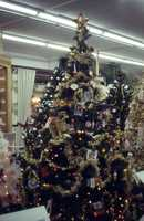 1986: A tree decorated Christmas tree in West Palm Beach.