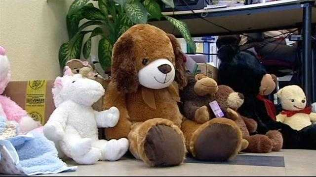 Teddy bears being donated to Connecticut school shooting victims