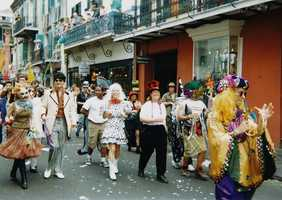 Go to Mardi Gras. (Photo: infrogmation/flickr)