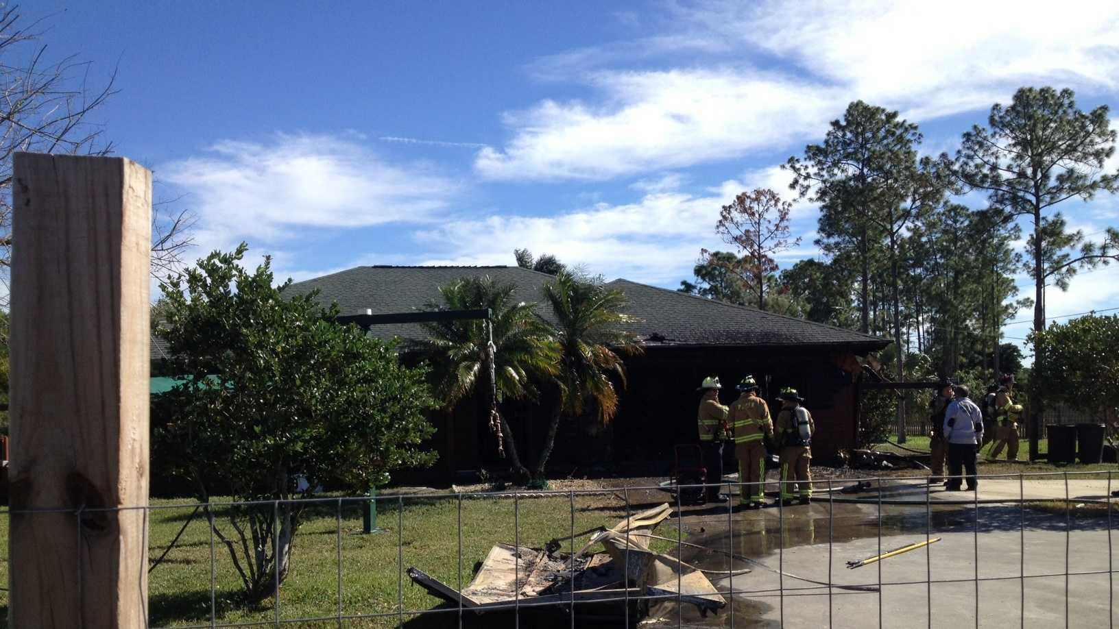 Loxahatchee house fire