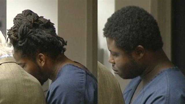 Joe Lawrence Jr. and Tremaine Turner in court