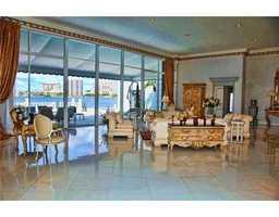 Elegant living room, overlooking the ocean-view.