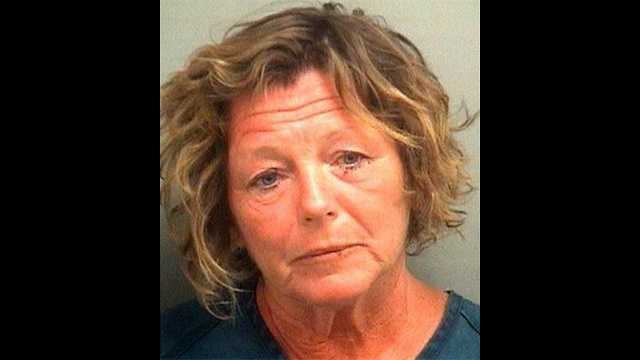 Mary Maloney is accused of offering a police officer oral sex if he let her go after a DUI crash in Greenacres.