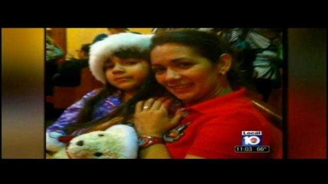 Evelyn Matomoro was shot in the face during a robbery outside a Miami restaurant.