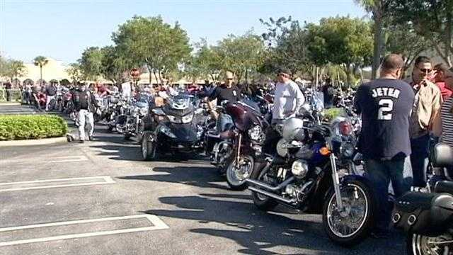 Crime Stoppers annual biker ride