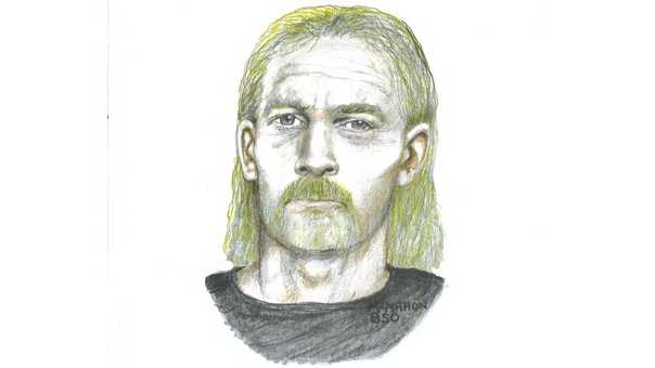 Sketch of man sought in death of Jay Harper