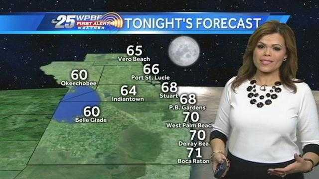 Felicia says pockets of the WPBF 25 News viewing area will be dealing with on-and-off showers throughout the day.