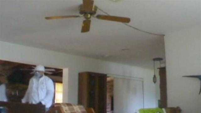 Newly installed security camera catches burglars