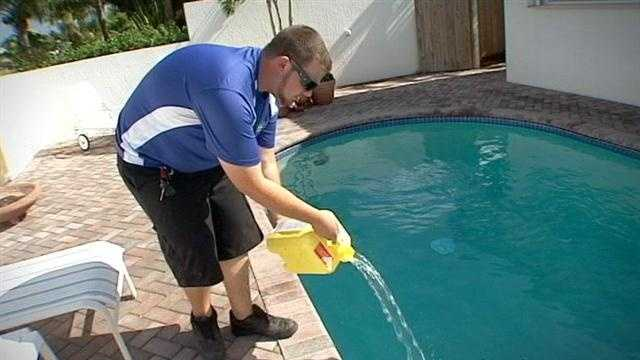 They glisten, cool and give the kids a place to burn off energy, but some think pools can damage your skin and have a cancer risk. That's why a local company has an alternative to pool treatment.