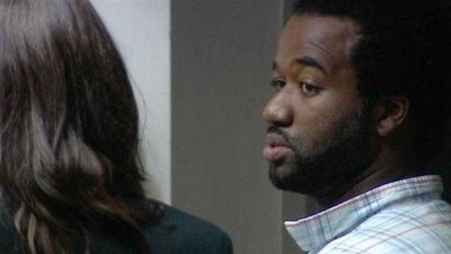 Rupert Harty says he fatally shot Amaria Grant after a voice in his head told him to kill, police claim.