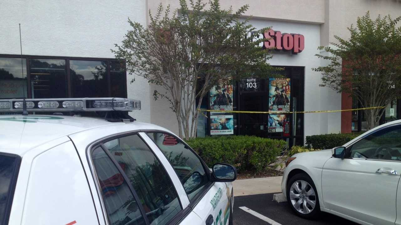 Deputies are investigating an armed robbery at the Game Stop in Vero Beach.