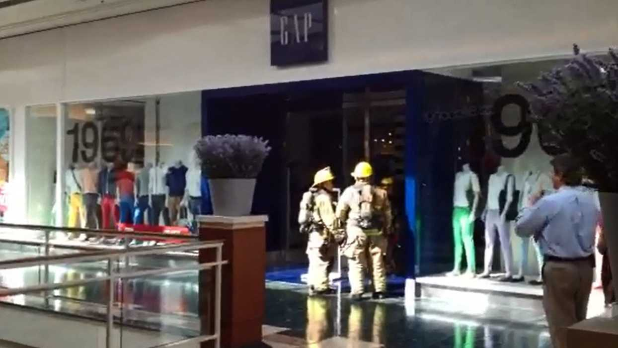 Firefighters at the Gap