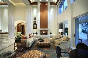 Tasteful decor can be seen throughout the home.