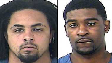 Eugene Ingram and Jovorius King each face numerous charges after officers said they found drugs, guns and nearly $5,000 in cash during a traffic stop Friday.