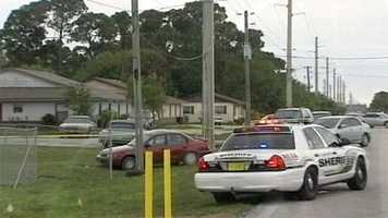 Streets were closed off during the investigation near Naylord Terrace on Thursday morning.
