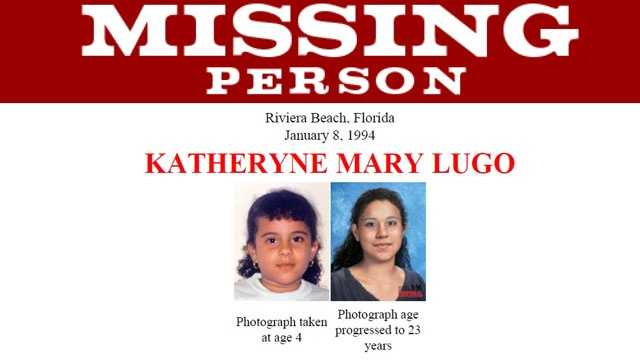 Missing Person poster of Katheryn Mary Lugo
