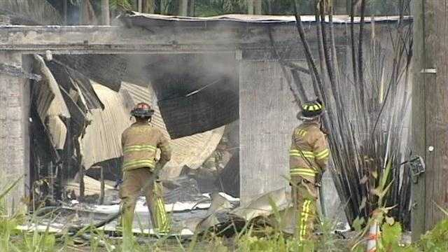Polo horses die in barn fire