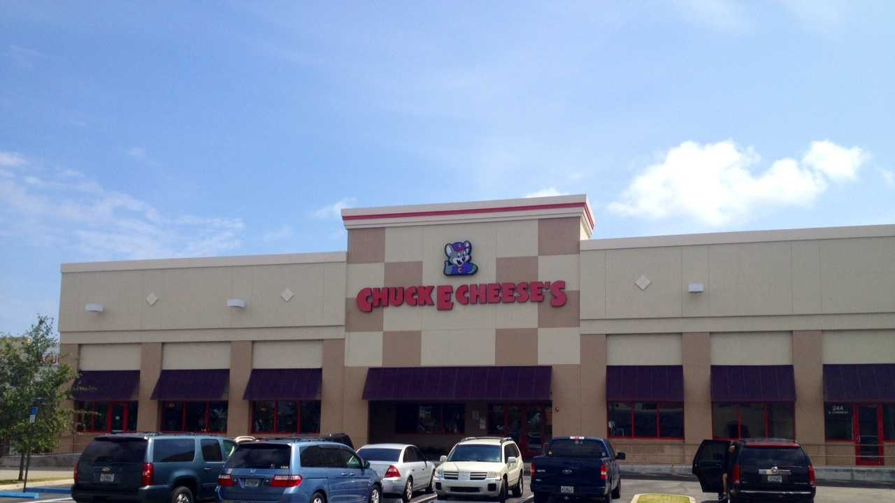 A large fight took place at this Chuck E. Cheese's restaurant in Boynton Beach.