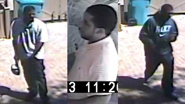 Police are trying to identify three men who burglarized a home on Southwest 36th Avenue.