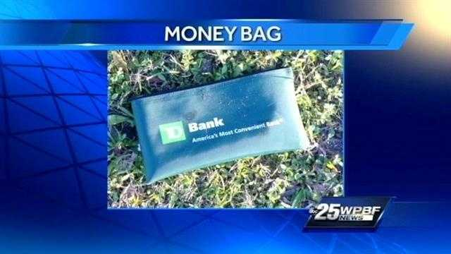 Thief gets away with $7,000 money bag