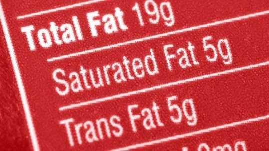 Processed Foods Generic Label