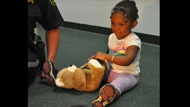 Toddler found alone in Pompano Beach