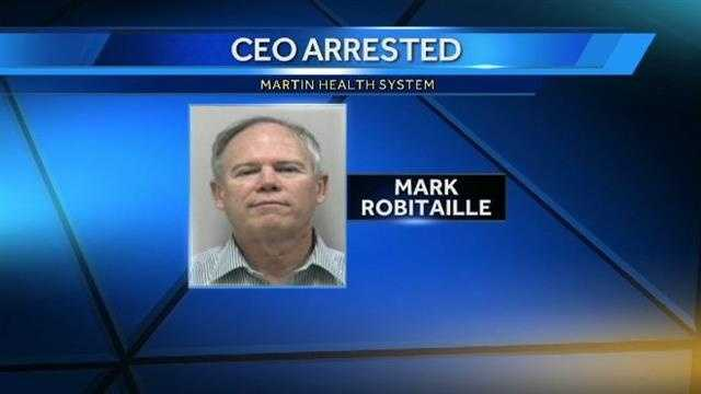 Mark Robitaille CEO arrested