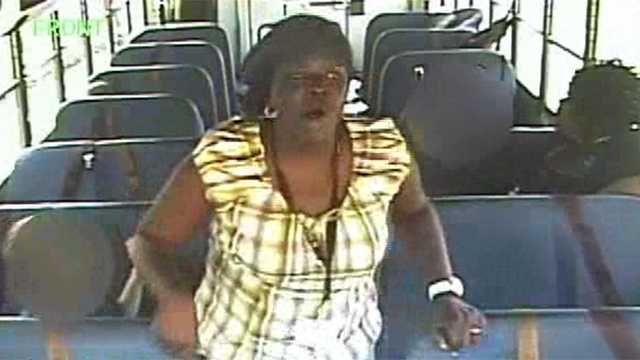 Bus Aide Arrested