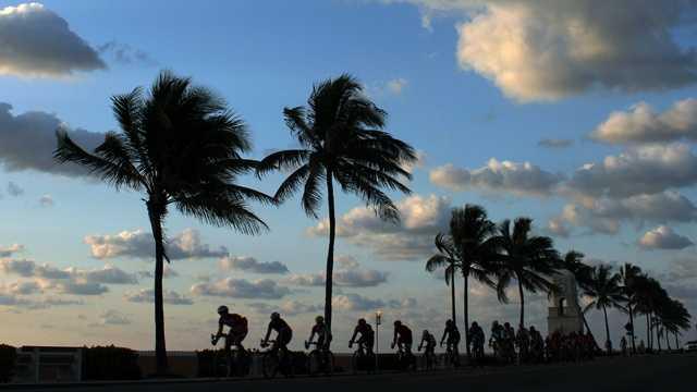 033013 Morning Bike Ride on Palm Beach