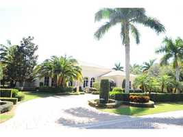 Built in 2006 this 4,664 sq. ft. home has four bedrooms and four bathrooms.
