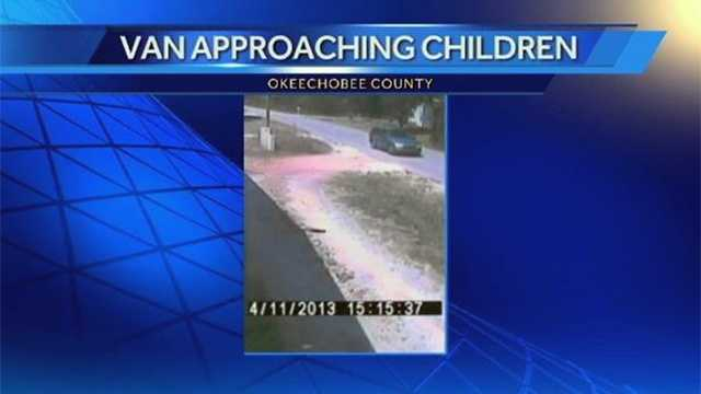 Van Approaches Children