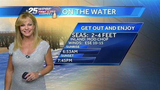 Sandra says a warm and seasonable day is on tap around town Thursday.