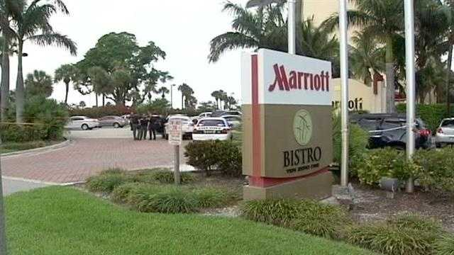 Deputy-involved shooting at Marriott
