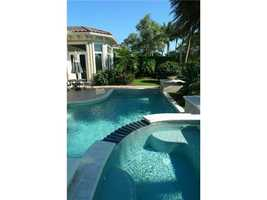 Cool, refreshing and private--what more could you want from your pool/jacuzzi area.