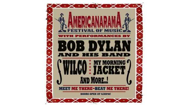 AmericanaramA Festival of Music poster