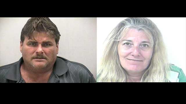 Antoine and Marti Sparks were arrested in connection with a marijuana grow house and weapons manufacturing warehouse.