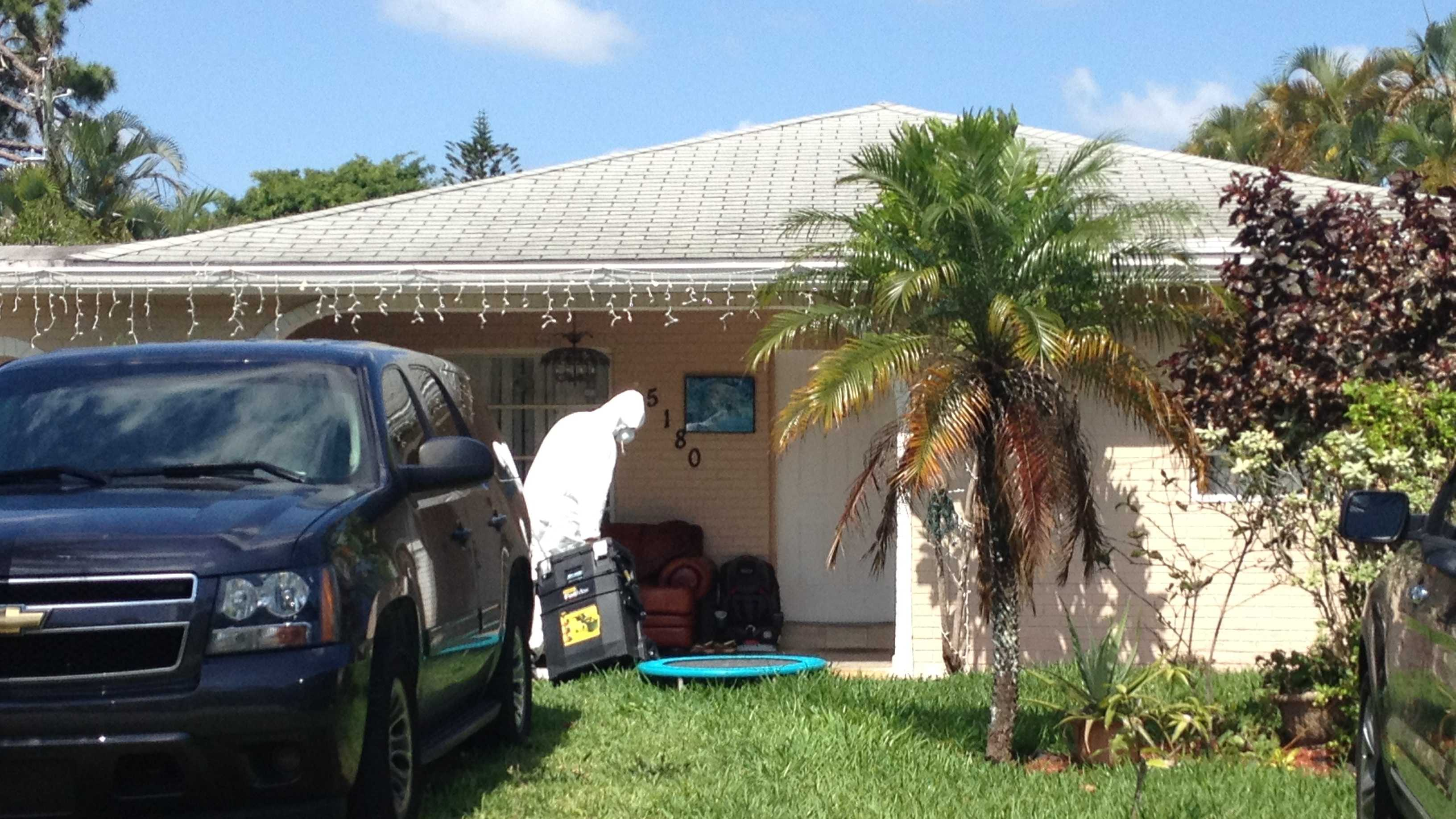 Grow house bust Delray Beach