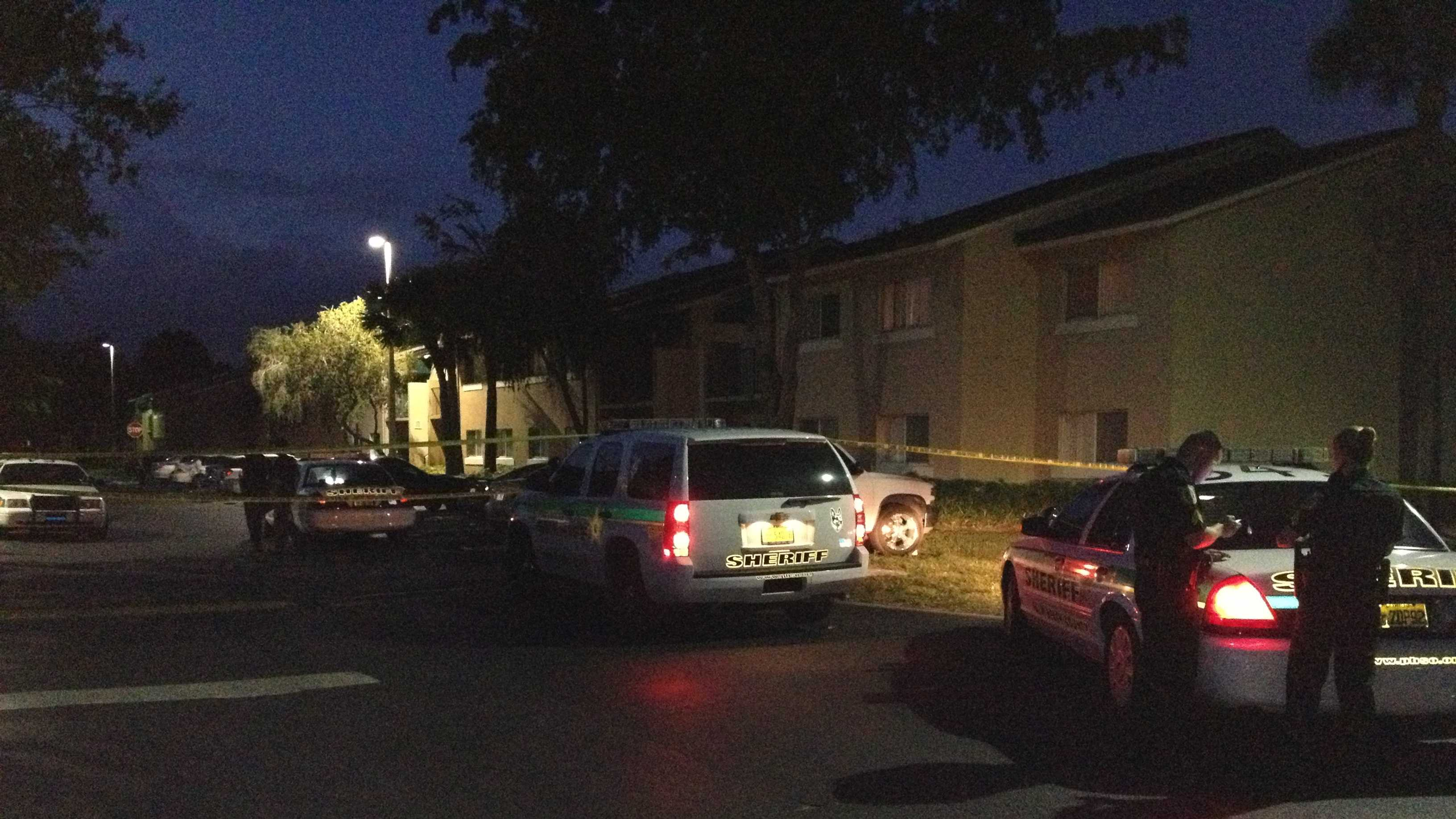A man was stabbed Thursday night on Lake Victoria Drive.