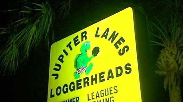A man accidentally shot himself while bowling at Jupiter Lanes, police said Tuesday night.