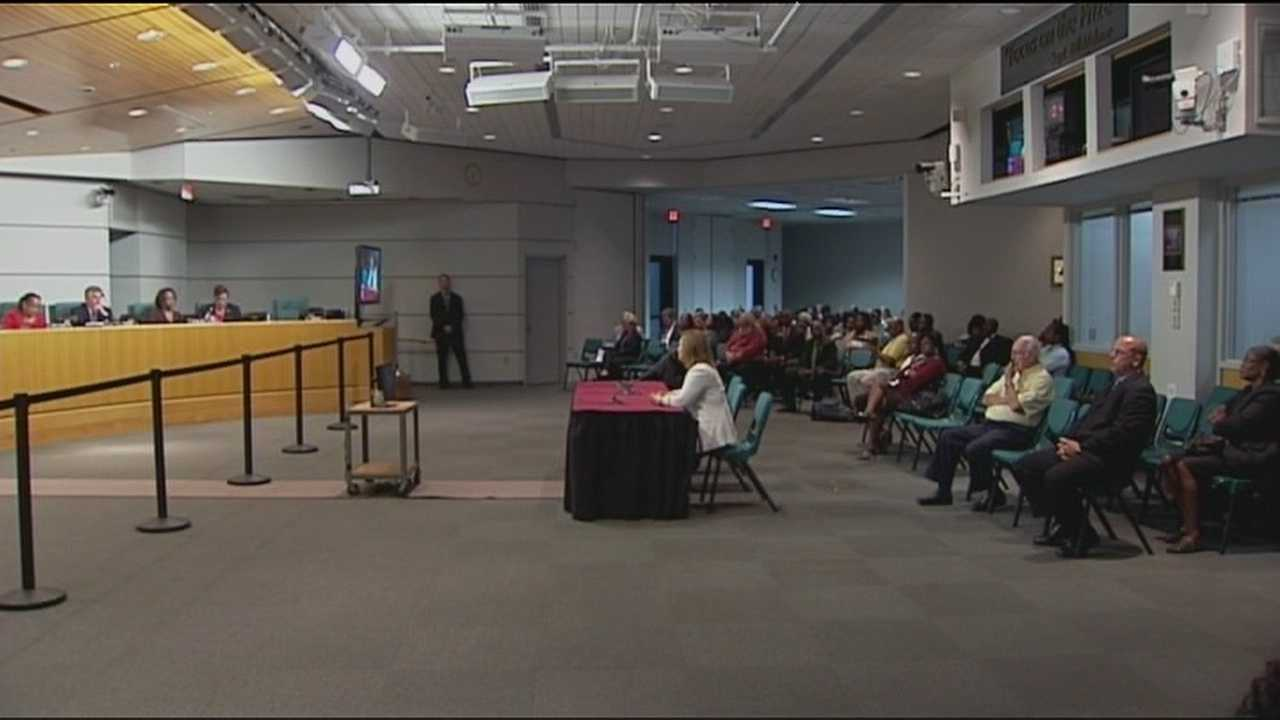 Tempers flared at a heated Palm Beach County school board meeting about a program that hasn't even begun yet.