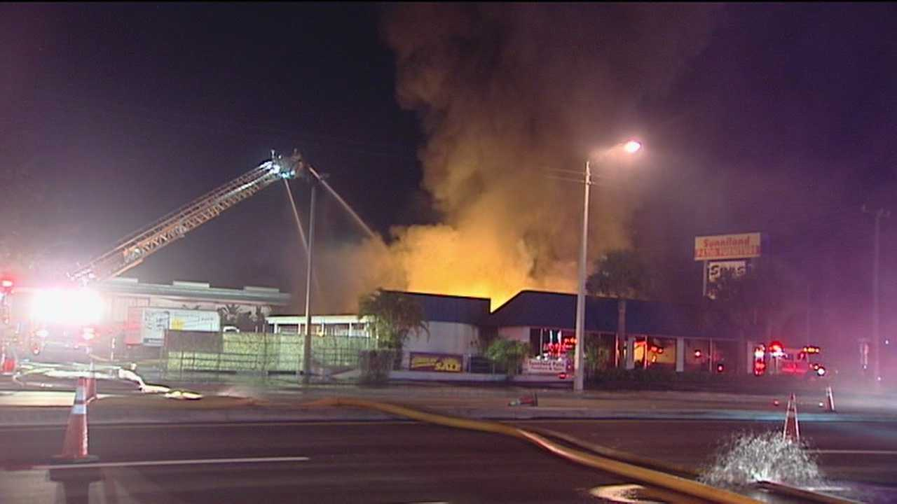 Cause of furniture store fire under investigation
