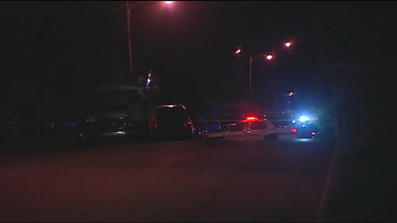 A 2-year-old girl is caught in the crossfire during a shootout in Riviera Beach.